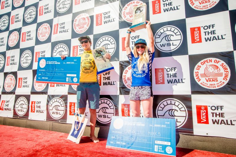 f7f86499ce Colapinto and Marks Win Vans US Open of Surfing Pro Junior - News ...