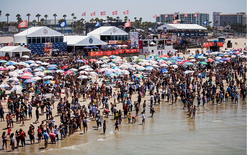 b4c48ab396 VIP Passes On Sale for 2018 Vans US Open of Surfing