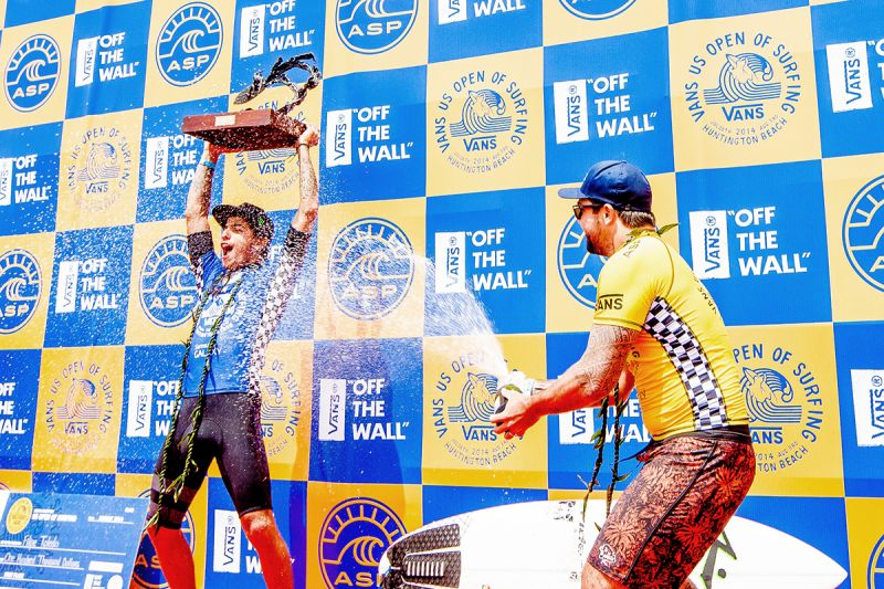 18e2a7944a Toledo and Wright Win Vans US Open of Surfing - News - 2015 Vans US Open of  Surfing