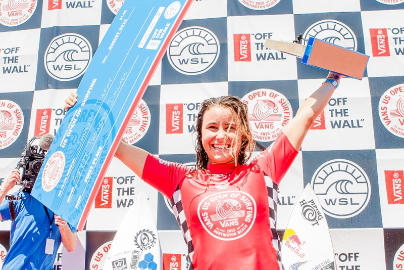 31a46f14a6 Defay and Ohhara Win Vans US Open of Surfing - News - 2015 Vans US ...