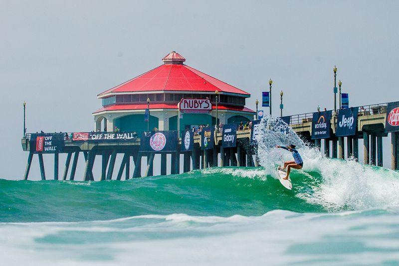 0124e28df2 Vans US Open of Surfing Sees Tough Battles and Top Scores - News ...